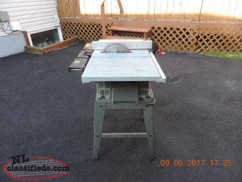 Electric Table Saw St John 39 S Newfoundland Labrador Nl Classifieds