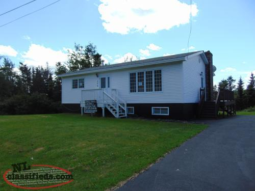 House and Large Shed for Sale - 2 Property Lots - Carmanville, NL