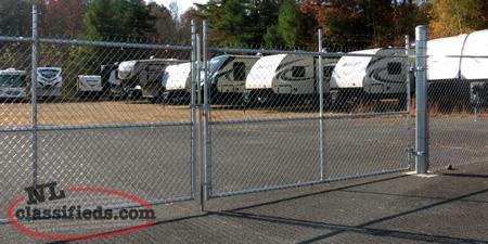Fully Fenced Storage Space Available-Automotive, Trailer, Motor Home Etc