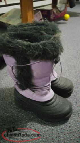 Size 11 girls winter boots