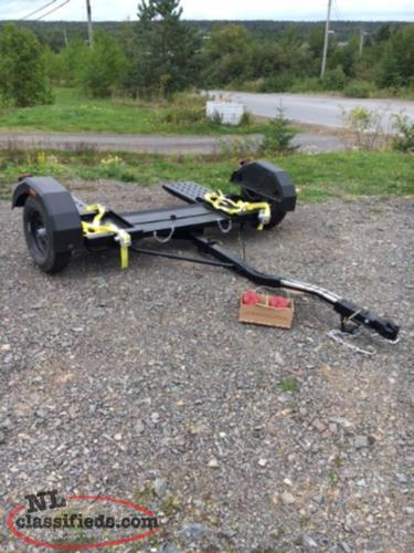 Car dolly for motorhome