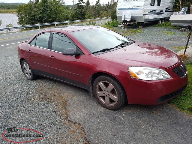 2005 G6 Gt 3 5 V6 Leather Moon Roof St John S Newfoundland Labrador Nl Classifieds