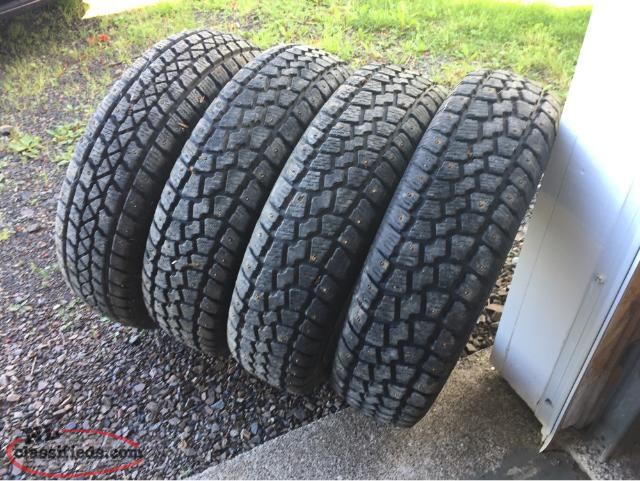Selling 4 Studded Winter Tires