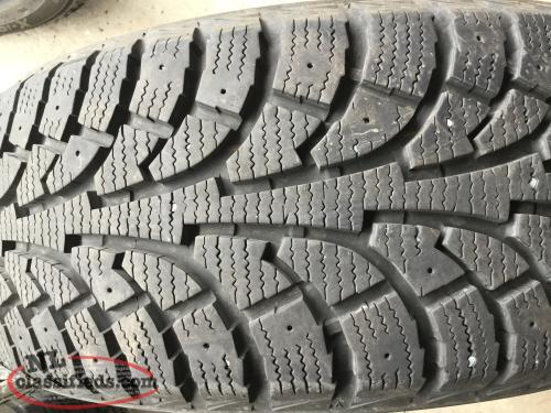 Four 205 55 16 winter tires