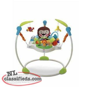 Precious Plant Jumperoo-Folds,Musical,3 Heights,Washable,Unisex