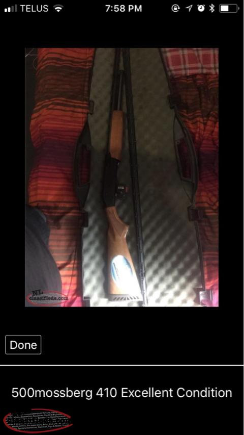 Just Like New Mossberg500 410