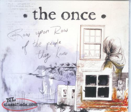 The Once - 2011 CD - New, factory sealed