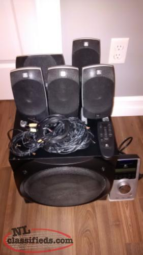 Logitech z5500 5.1 Speaker system for home entertainment