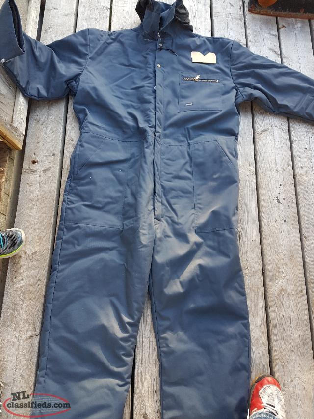Men's 2X insulated coveralls