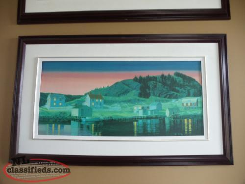 """Sunset at Milley's Point"" - 12/75; Signed by Artist Ed Roche"