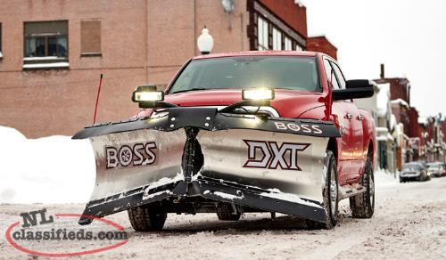 The snow is coming...are you ready? BOSS snow plows for YOU @ Islander RV!