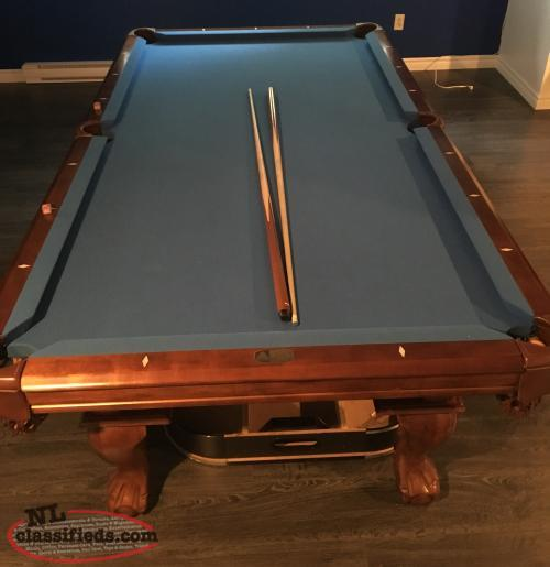 4x8 slate legacy pool table for sale