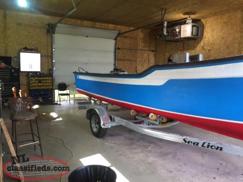21 foot Boat, motor, and new sea lion trailer - St. John's ...