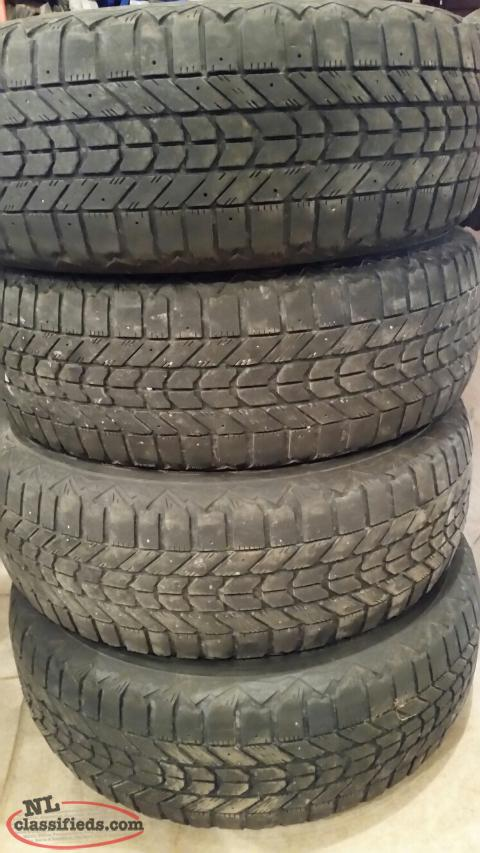 215/60R16 Firestone Winterforce tires for sale