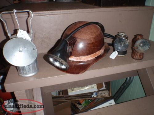 antique miners items