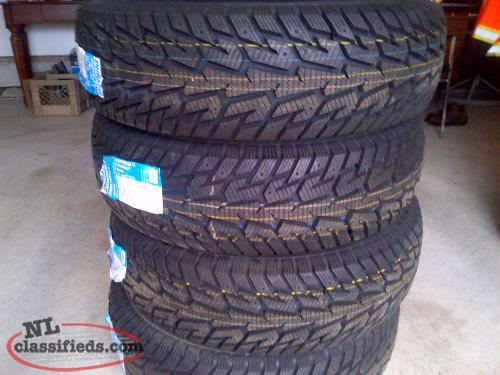 265/75R/16 Snow Tires Brand New.