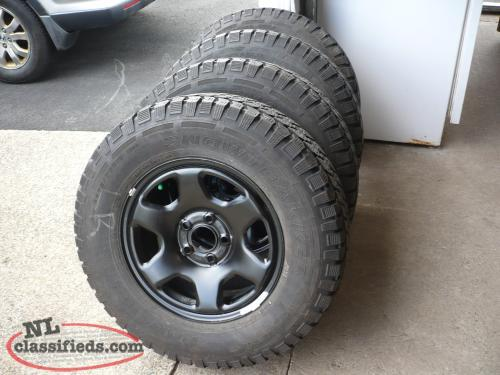 235/70r16 winter tires and rims