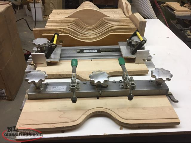 Cabinet Door Fabrication jig