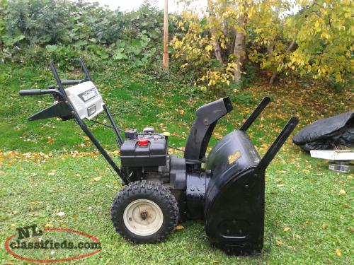 Mastercraft and Murray Snowblowers for sale