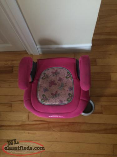 Child booster seat. Car seat booster seat
