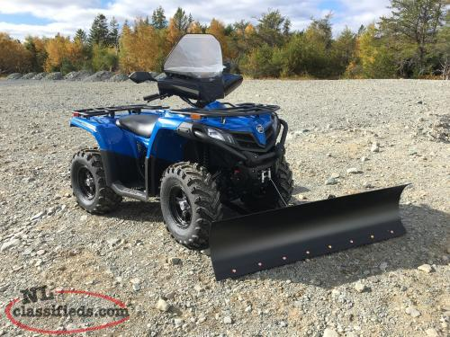 FREE: PLOW, WINDSHIELD, WINCH and HELMENT