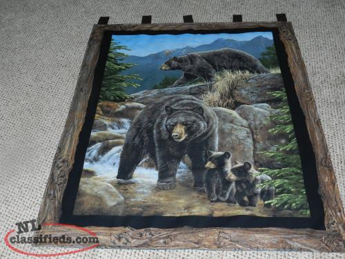 "for sale New ""Bear"" wall Hangings = a # available"