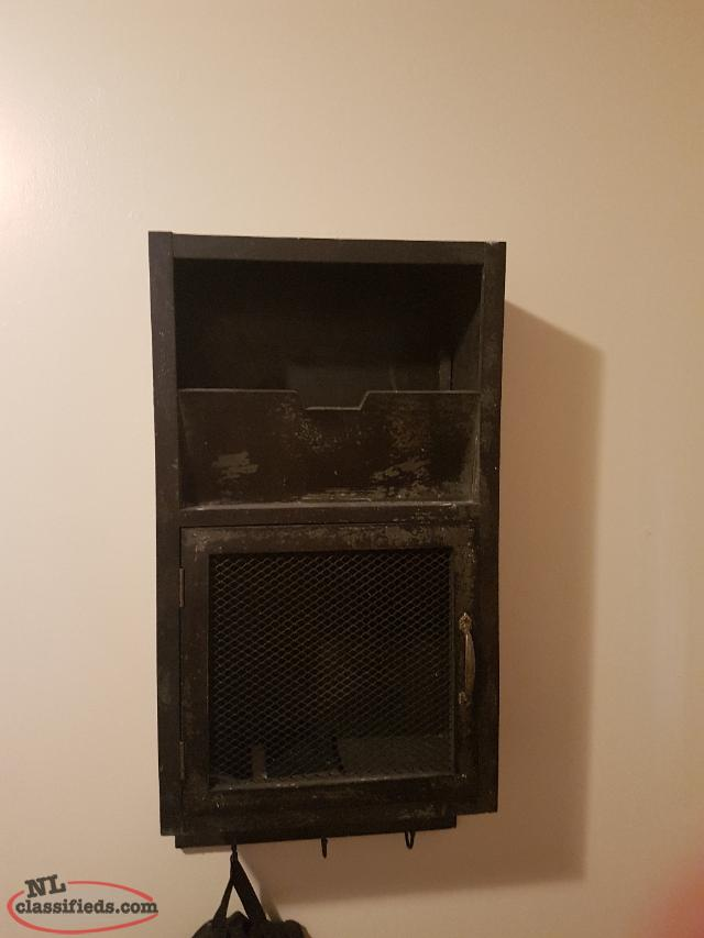 black rustic cabinet forsale