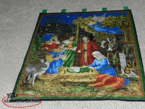 for sale a new Nativity wall hanging== only 3 remaining