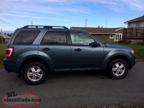 2012 ford escape for sale st john 39 s newfoundland labrador nl classifieds. Black Bedroom Furniture Sets. Home Design Ideas