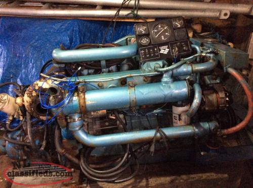 REDUCED For sale: diesel engine and other boat parts