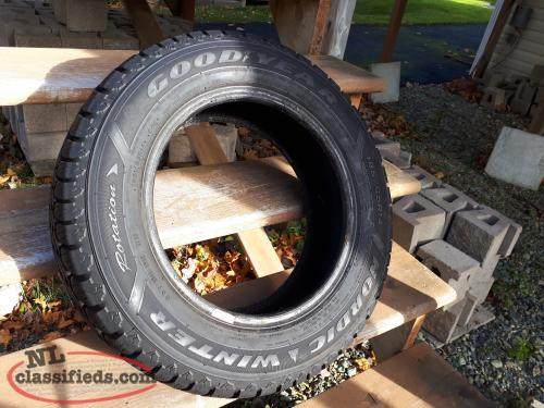 5 GOODYEAR Nordic Winter Tires, 185/65R/14