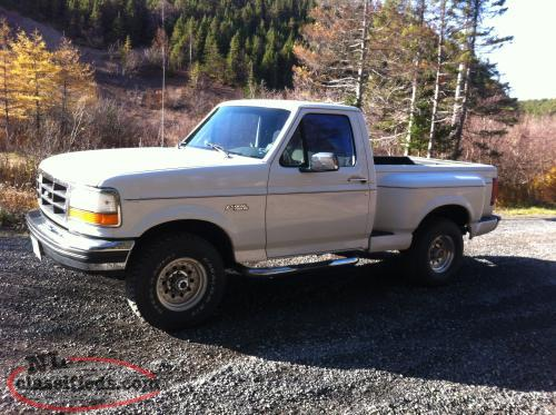 1993 ford f 150 xlt flareside 4x4 clarenville. Black Bedroom Furniture Sets. Home Design Ideas