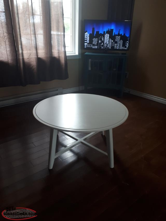white Coffee table