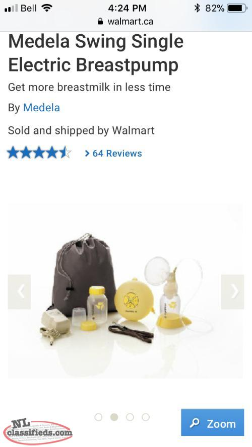 Medela swing electric breast pump for sale!
