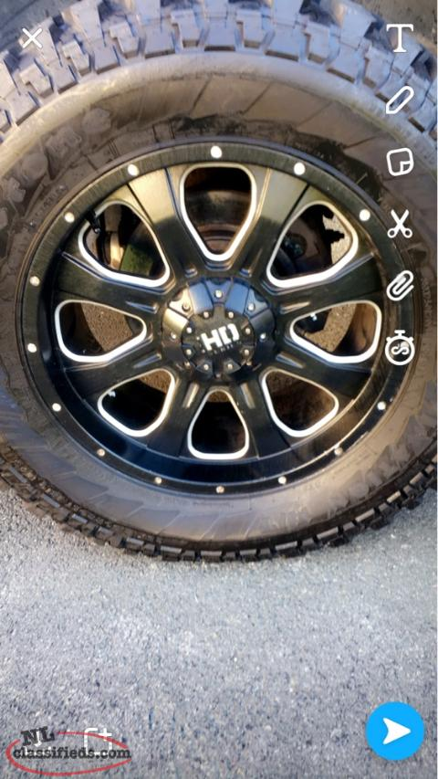 "New Dodge Ram 1500 Rims And Tires 35"" Tire 20"" Rim"