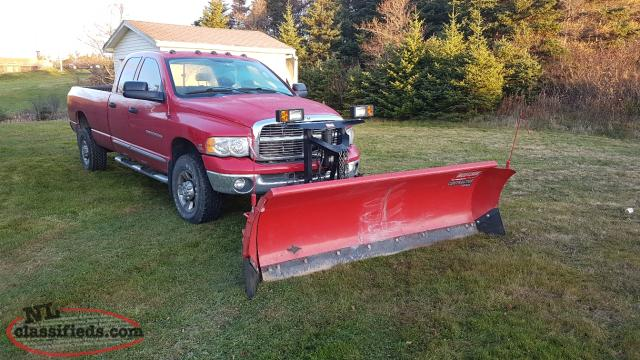 2004 Dodge RAM 3500 Diesel with Snow Plow