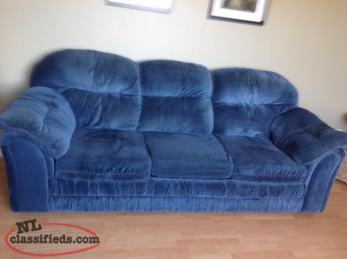 Sofa and two recliners