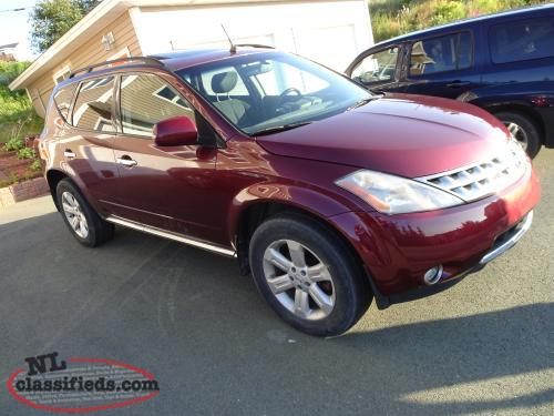 2007 Nissan Murano SL SUV, All Wheel Drive Crossover