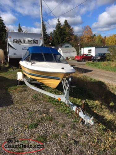 14' 8 Mosquito Bayliner (End of season complete pkg)