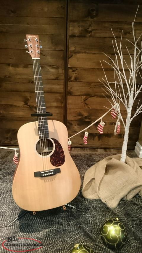 Martin Custom X Acoustic / Electric Guitar