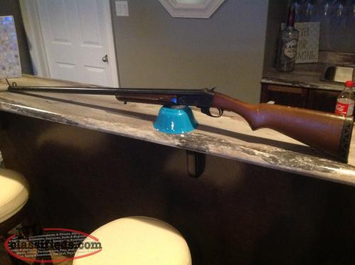 Two 10 gauge single shot shotguns for sale