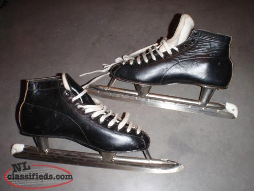 old speed skates