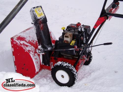 MTD (Yardworks)snowblower