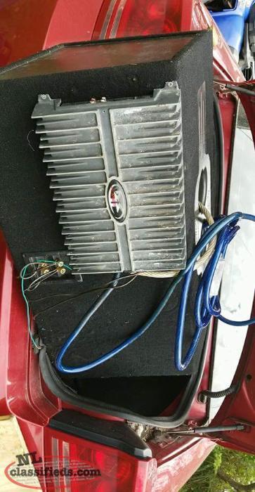 rockford fosgate sub hook up Rockford fosgate rfk4d dual 4 gauge amp kit+rfc2d 2 farad capacitor with meter.