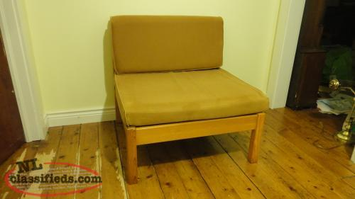 Ikea Cushion Chairs - Pair, smoke-free, excellent condition