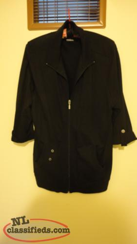 Carroll Reed Black Jacket size L, excellent, smoke-free environment