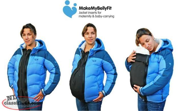 Coat Extender And Baby Carrier Cover