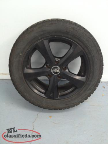 Winter Tires And Rims To Fit Audi Q7 Price Reduced St John S Newfoundland Labrador