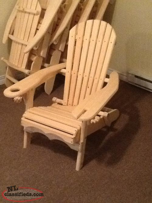 Popular Folding Adirondack Chairs with Wine Glass Holder and Drink Holder