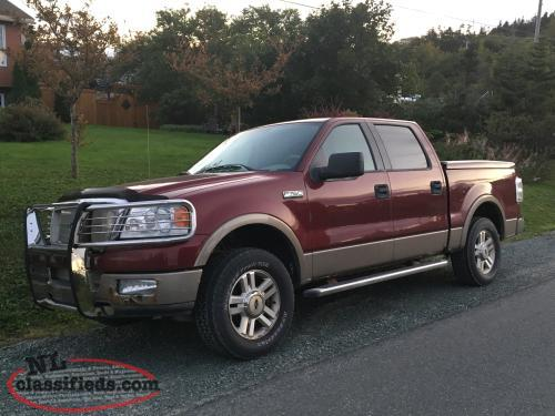 2004 ford f 150 lariat 4x4 paradise newfoundland. Black Bedroom Furniture Sets. Home Design Ideas